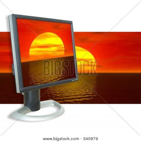 Monitor Sunset