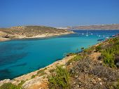 The Blue Lagoon In Comino - Malta