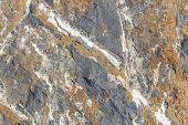 Close Up Geological Rock Shapes And Patterns poster