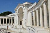stock photo of arlington cemetery  - Arlington National Cemetery in Washington DC  - JPG