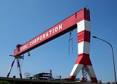 Large Shipyard Gantry Crane