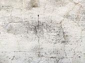 Old Plaster Wall Surface For Texture Or Backgrounds. Repairs In The House. poster