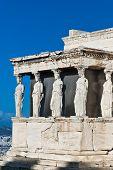 Caryatids Erechteion Acropolis Athens Greece poster