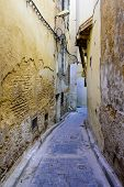 Sightseeing Of Morocco. Traditional Street In Fez Medina (fez Old Town). poster