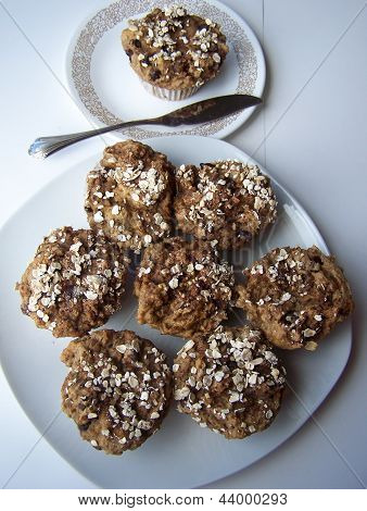 Healthy muffin plates