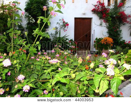 Greek Village House Garden