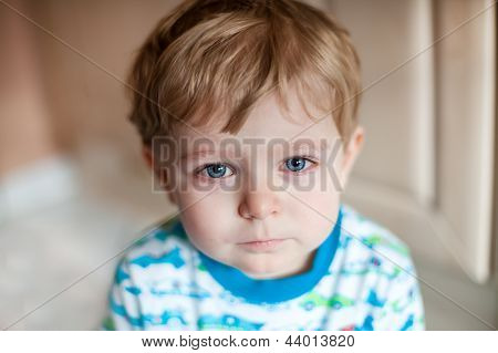 Crying Toddler Boy
