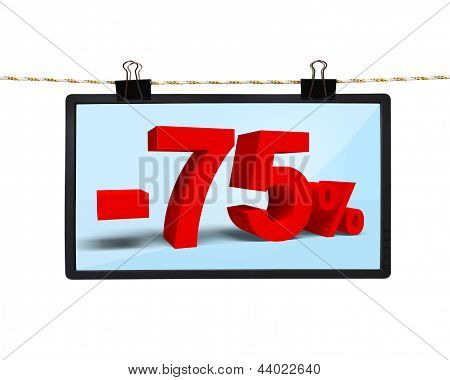 Screen With Discount