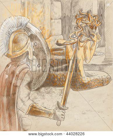 Perseus and Medusa