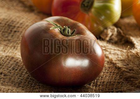 Fresh Organic Ripe Heirloom Tomatoes