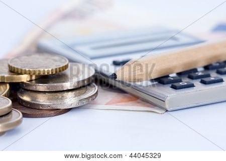 photo of money and currency in the activity of the economy and finance