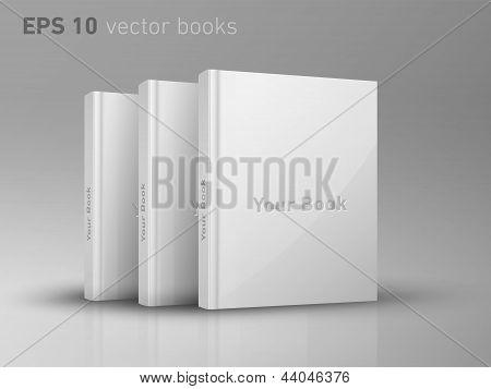 Eps editable Vector 10 libros