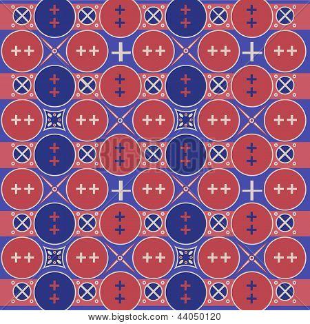 Indonesia Javanese traditional pattern batik 1