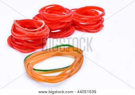 Difference rubber band