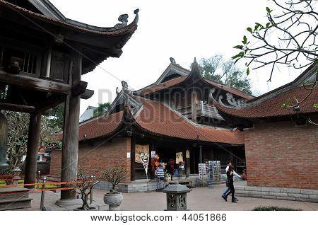 The temple of Literature in Hanoi, Vietnam