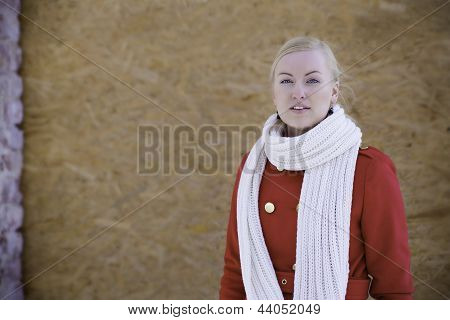 Young Woman With Haughty Look