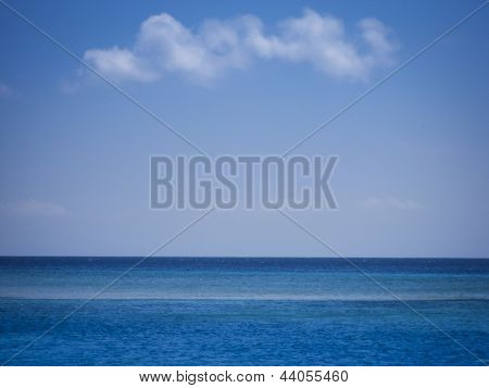 Open Ocean Sea Background