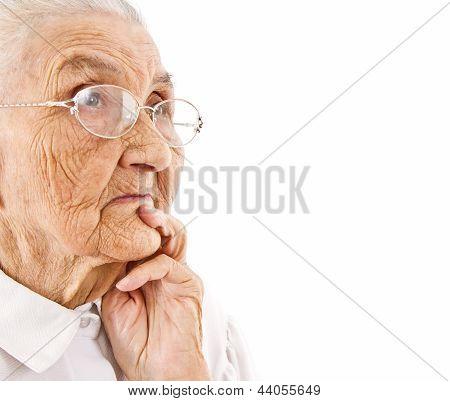 Old Lady's Portrait