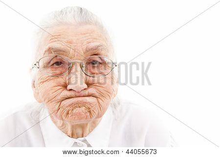 Lustige Oma