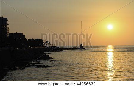 Corniche Beirut In Lebanon