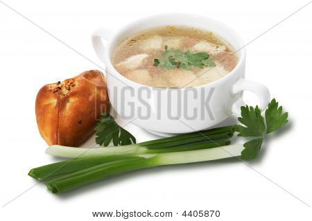 Russian Fish Soup