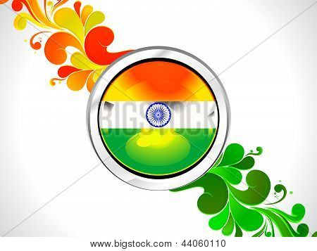 Abstract Indian Indepandance Day Wallpaper