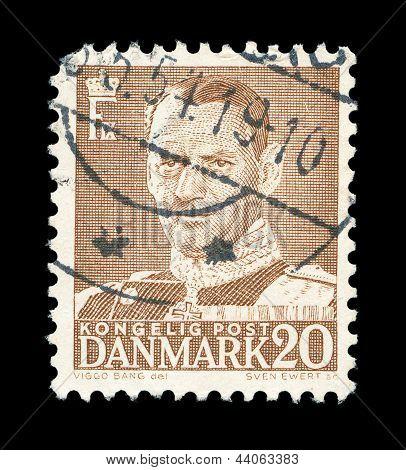 Danish Post Stamp