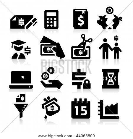 Iconos de impuestos