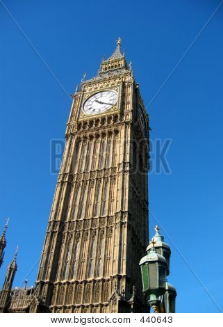 Looking Up At Big Ben
