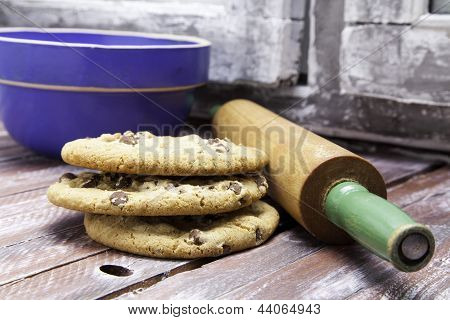 Cookies and Rolling Pin