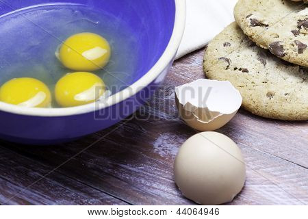 Cookies and Eggs