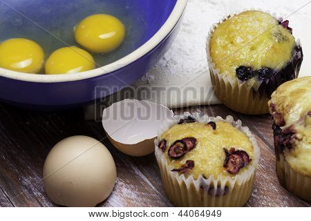 Muffins and Eggs