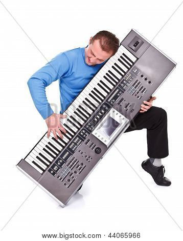 Enthusiastic Keyboard Player
