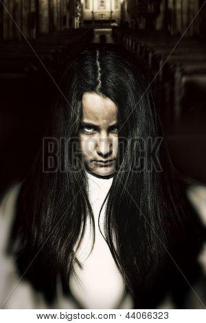 Scary Little Spooky Girl