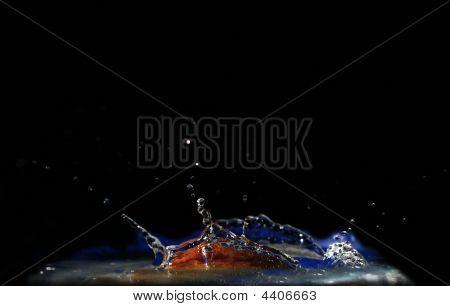 High-speed Shooting Of Water