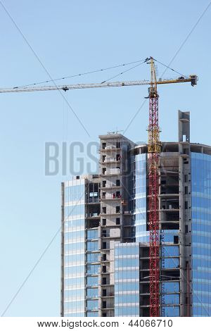 tall building under construction