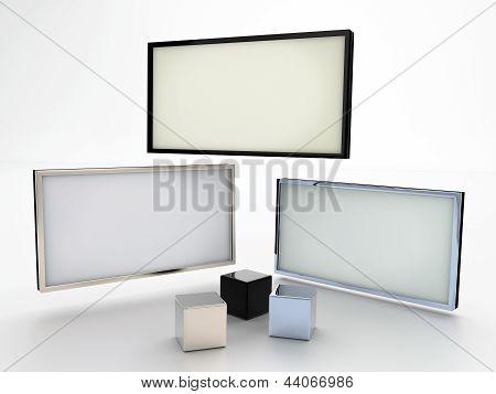 Blank displays