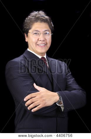 Young Handsome Asian Businessman