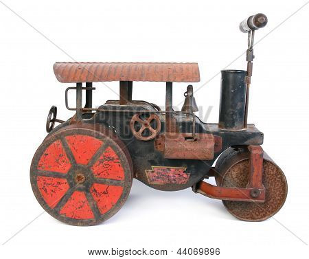 old steamroller toy