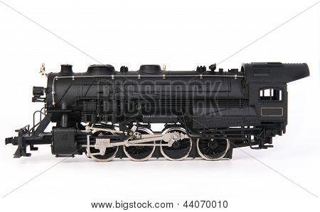 old miniature train