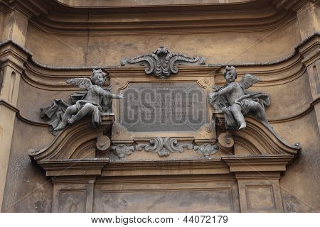 Santa Maria Della Colonna Detail