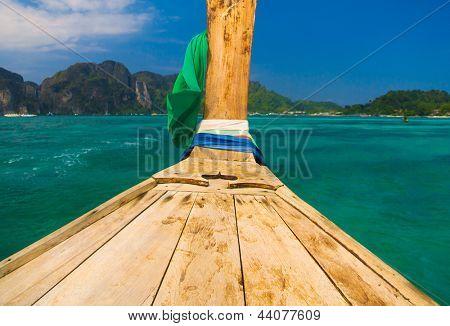Asian Boat Getaway Journey