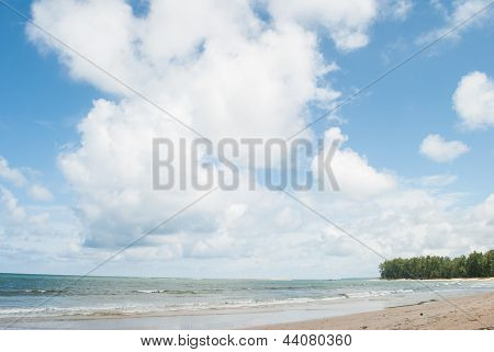 Beach And Tropical Sea At Phuket Island,thailand.