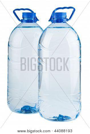 Par de botellones de agua