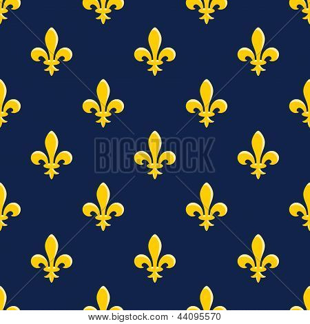 Yellow Emblem Pattern