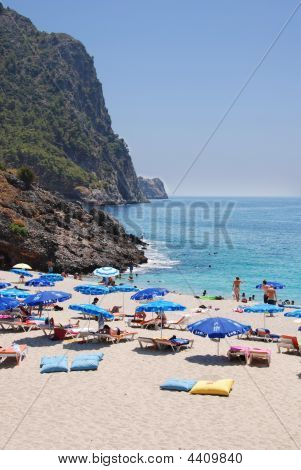 Beach In Alanya, Turkey