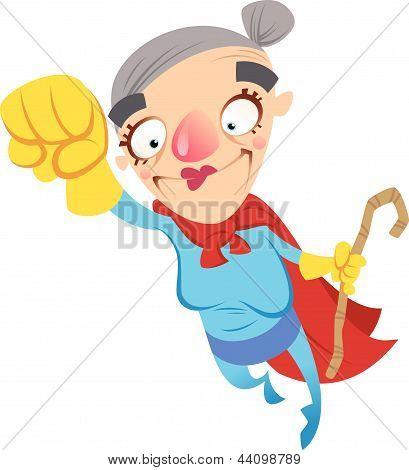 Super Cartoon Grandma