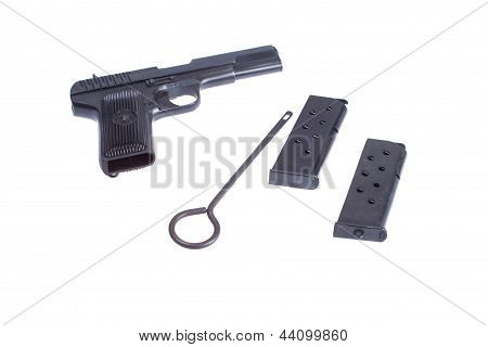 Soviet Handgun Tt (tula, Tokarev)