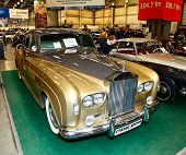 Moscow, Russia - March 9: Rolls-royce Silver Cloud Iii 1963 At The Xxi International Exhibition Of T