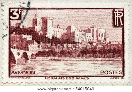 Avignon Stamp